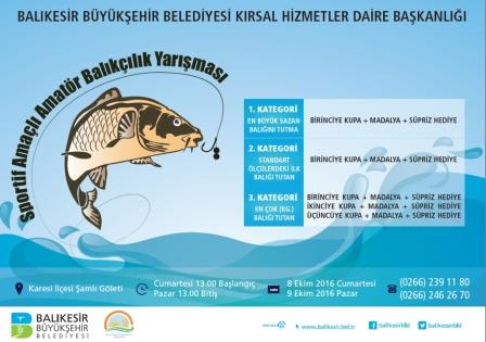 Sazan Balığı Tutma Yarışması